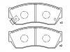 刹车片 Brake Pad Set:GEK: GD1406<br />