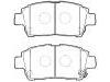 刹车片 Brake Pad Set:GEK: GD1235A<br />