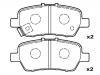刹车片 Brake Pad Set:GEK: GD1515<br />