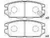 刹车片 Brake Pad Set:GEK: GD1615<br />