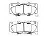 刹车片 Brake Pad Set:GEK: GD1280<br />