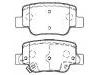 刹车片 Brake Pad Set:GEK: GD1291<br />